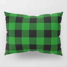 Green Buffalo Plaid Pillow Sham