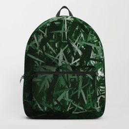 Green herbal textured abstract background  Backpack