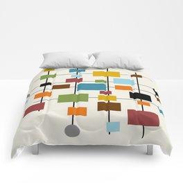 Mid-Century Modern Art 1.3 Comforters