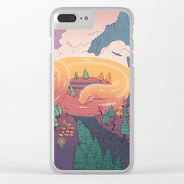 The creature of the mountain Clear iPhone Case