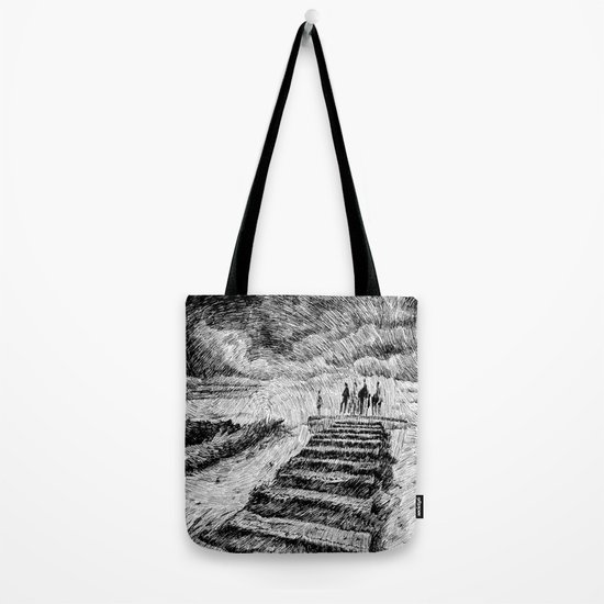 Storm - Ink Tote Bag