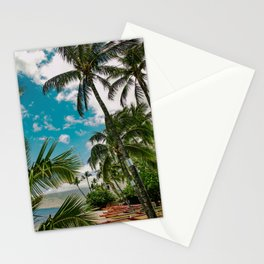 Ka Lae Pohaku beach Kenolio Kihei Wharf Maui Hawaii Stationery Cards