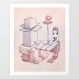 Carboard Art Print
