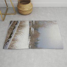 Winter Wonderland - Country Art Rug