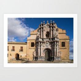 Caravaca De La Cruz Church Art Print
