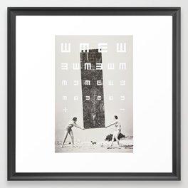 Exam Framed Art Print