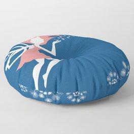 Ride on the Wind Floor Pillow