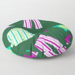 Pyjama pattern Floor Pillow