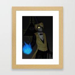 A Deal With A Demon Framed Art Print