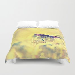 Sunshine and Butterflies Duvet Cover
