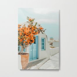 Greece Airbnb #photography #greece #travel Metal Print