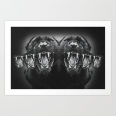 Panther Power Art Print