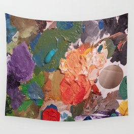 Pallete Wall Tapestry