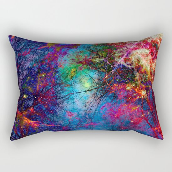 Colorful fiber  Rectangular Pillow