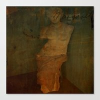 virgo Canvas Prints featuring VIRGO by lucborell