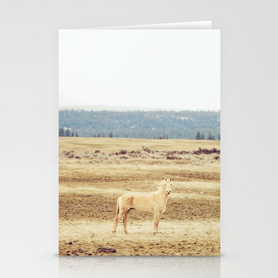 Two Oregon Horses Stationery Cards