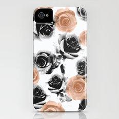 pixel rose iPhone (4, 4s) Slim Case