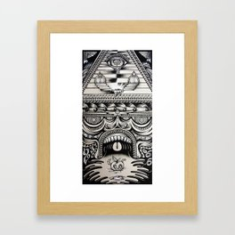 Illuminati Framed Art Print