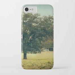 Texas Autumn iPhone Case