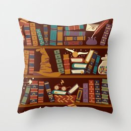 Hogwarts Things Throw Pillow