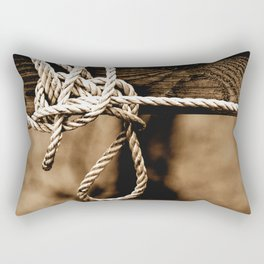 Fit To Be Tied Rectangular Pillow