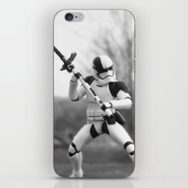 Let's fight! iPhone Skin