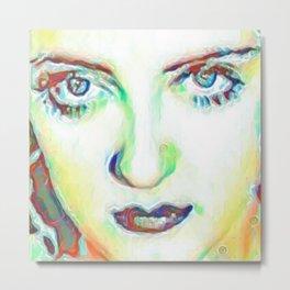 She's got Bette Davis Eyes Metal Print