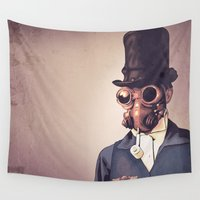 steampunk Wall Tapestries featuring Steampunk by FalcaoLucas
