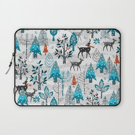 Snow Much Courage Laptop Sleeve