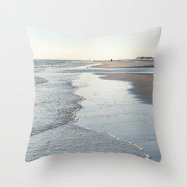 Amrum Beach Throw Pillow
