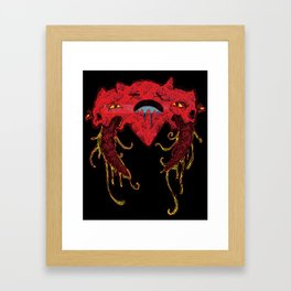 i heart you like this Framed Art Print