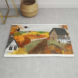 Autumn Village Rug