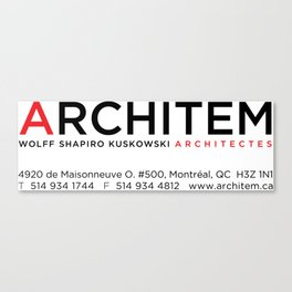 Architem Allen's mug Canvas Print