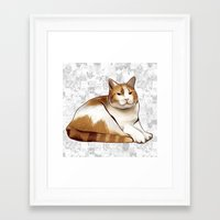 tigger Framed Art Prints featuring Tigger by EggsBFF
