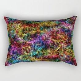 Rainbow Weaving Rectangular Pillow