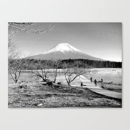 mt fuji Canvas Print