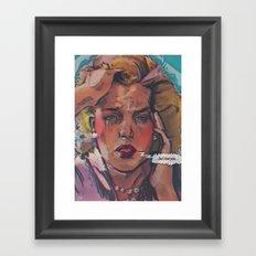 ... but i love you ... Framed Art Print