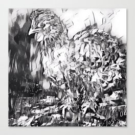 Chickens Canvas Print