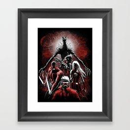 Legendary Guardians Framed Art Print