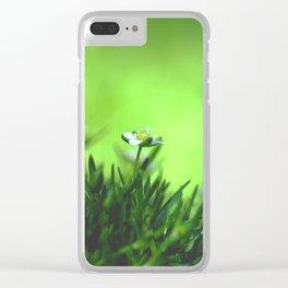 Irish Moss Clear iPhone Case