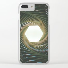 closing up Clear iPhone Case
