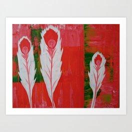 """light as a feather"" Art Print"