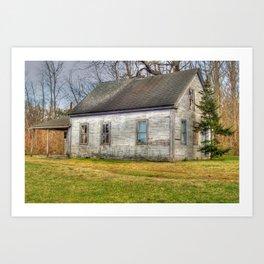 The House on Depot Street Art Print