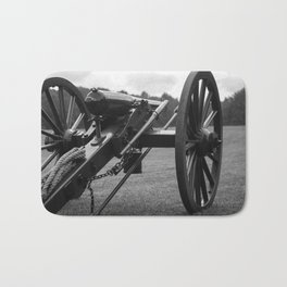 Civil War Era Cannon Bath Mat