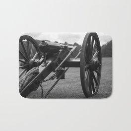 Civil War Era Cannon Bath Mat