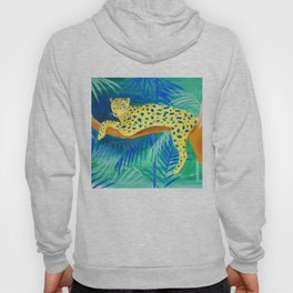 Leopard on Tree Hoody