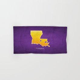 Louisiana State Tigers Hand & Bath Towel