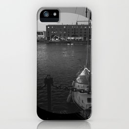 Dark Docks iPhone Case