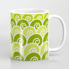 Green Beach Waves Coffee Mug