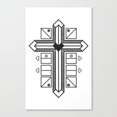 Mighty cross Canvas Print